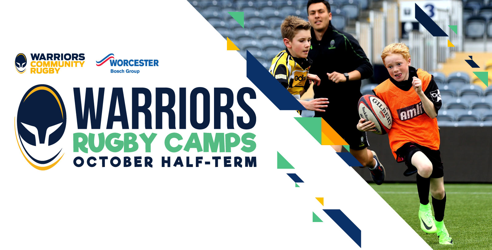 Warriors Rugby Camps return in October