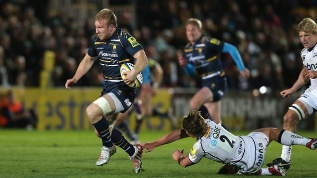 Kvesic at the double at End of Season Awards – Worcester Warriors