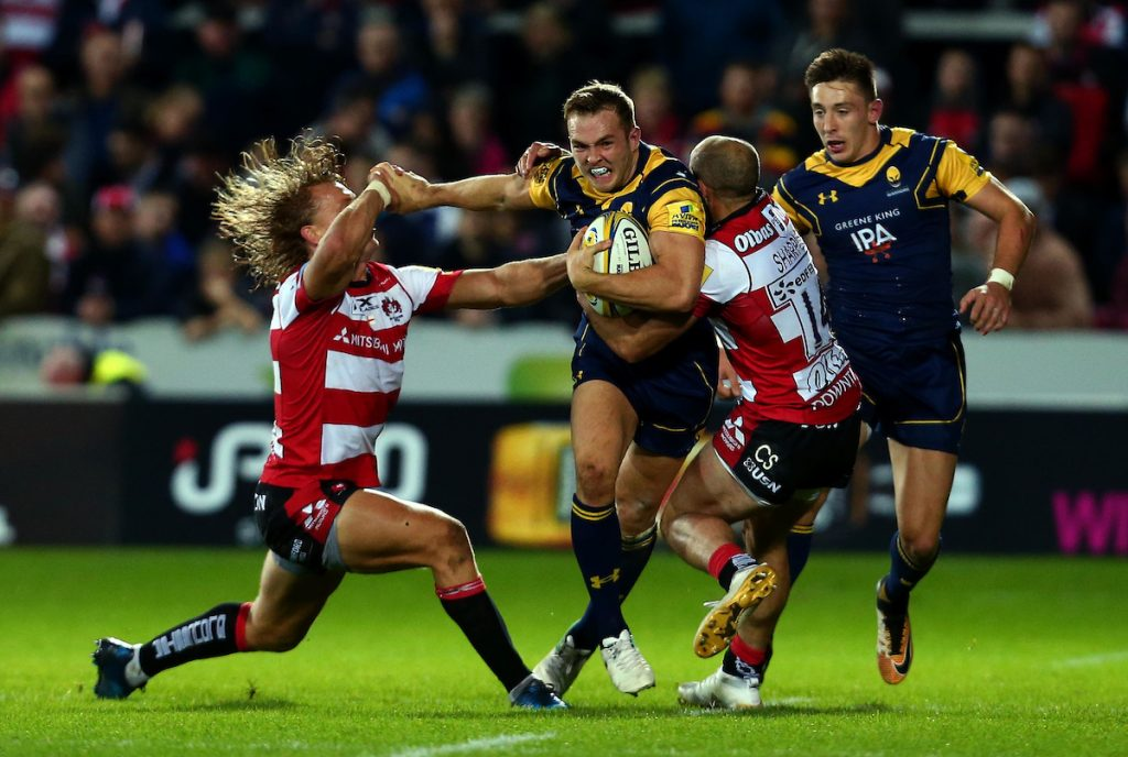 Gloucester Rugby Vs Worcester Warriors Worcester Warriors