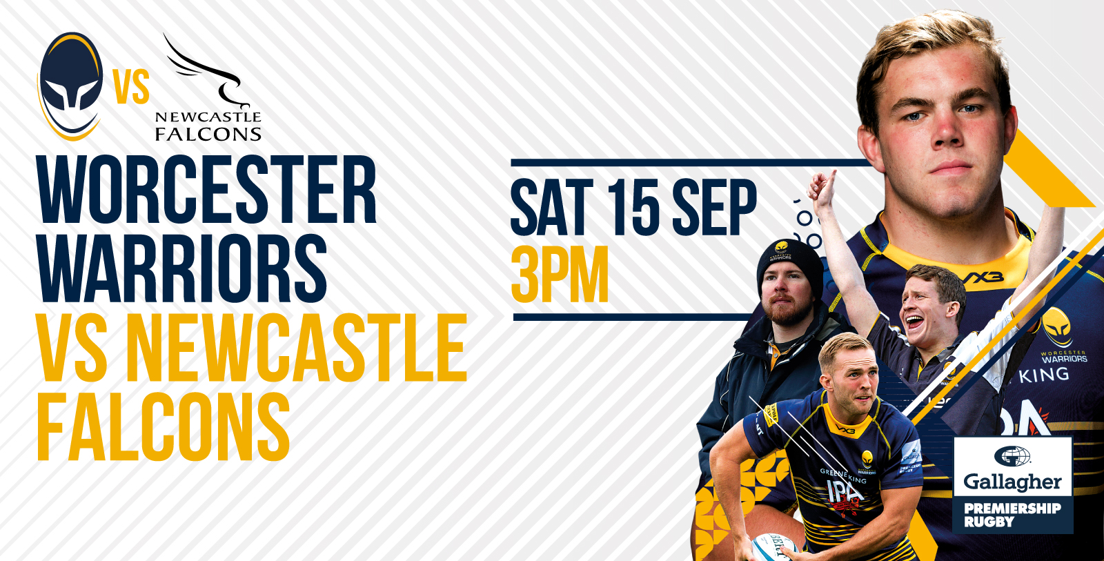 0c26f8aae62 Warriors vs Newcastle Falcons – Get Advanced prices – Worcester Warriors