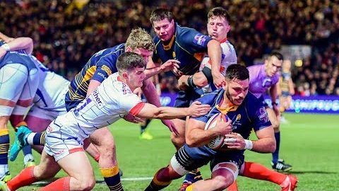 Worcester Warriors v Sale highlights 18/19 PRC