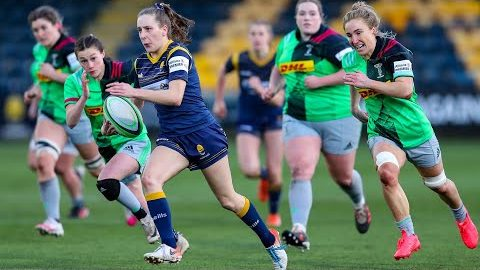Highlights | Warriors Women go down fighting against Harlequins Women