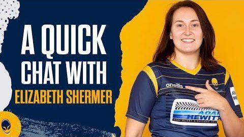 A quick chat | Elizabeth Shermer