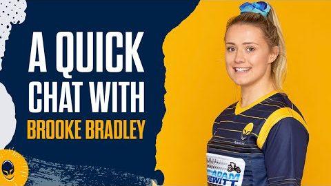A quick chat | Brooke Bradley