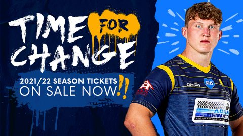 It's Time for Change | 2021/22 Season Tickets on sale now!