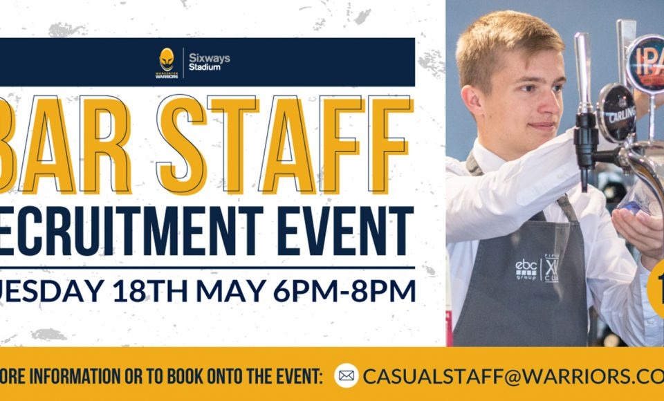 Recruitment event at Sixways