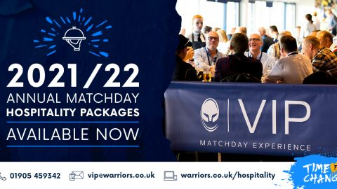 Warriors announce price freeze on Annual Hospitality Packages