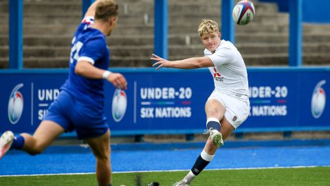 Fin Smith sparkles in England Under-20s win