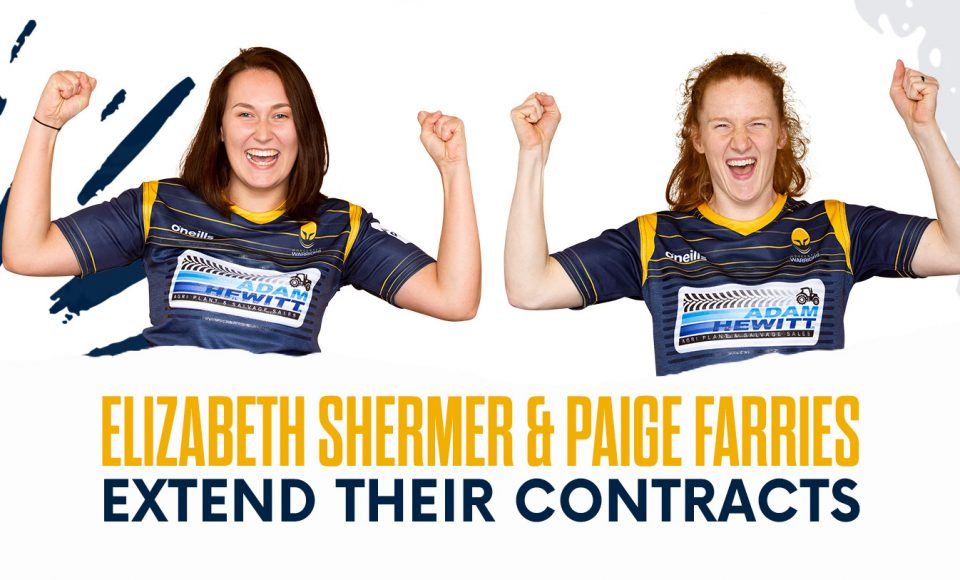 Lock Shermer and Canada wing Farries re-sign