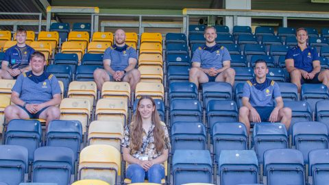 Warriors support Worcester Big Sleep-Out