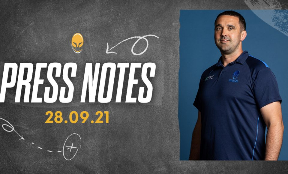 Press Conference Notes 28.09.21