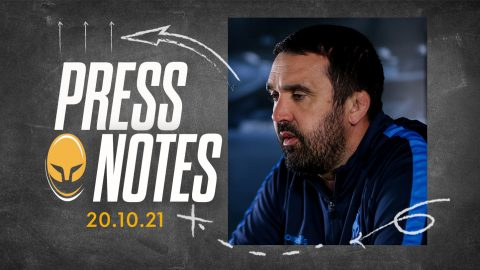 Press Conference Notes 20.10.21